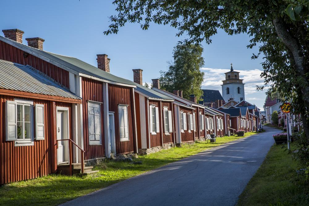 Gammelstadens kyrkby utanför Luleå