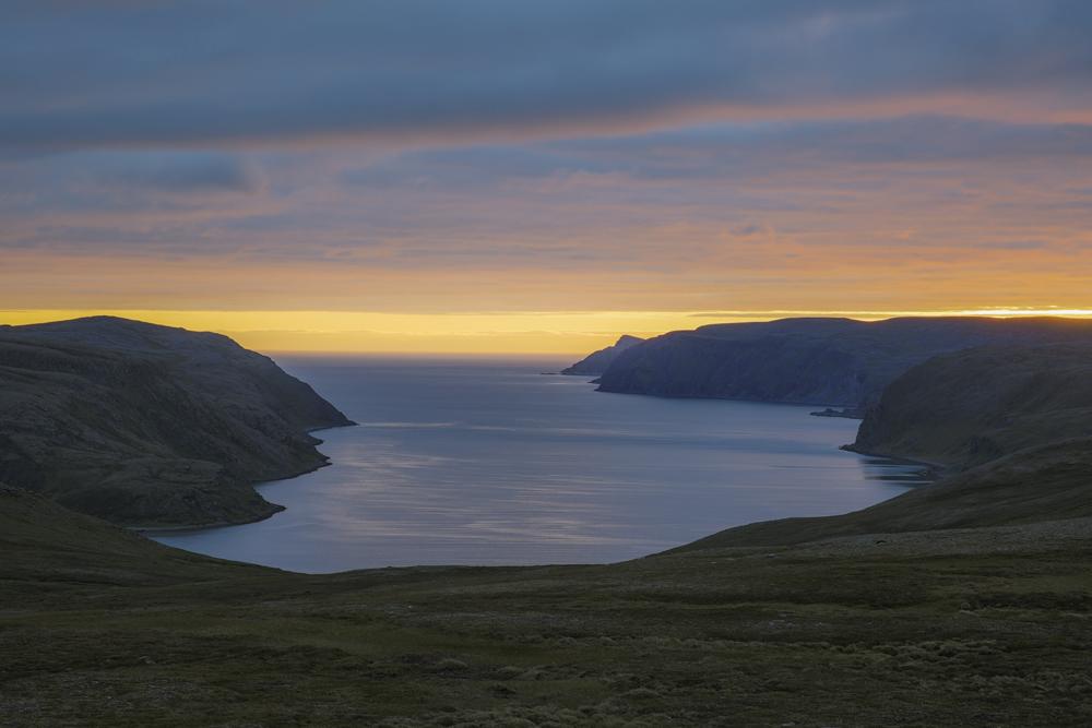 Från den vackra vägen till Nordkap
