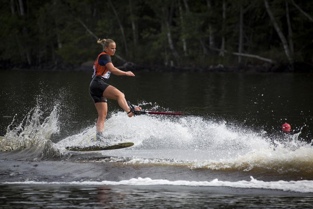 Jane Täfvander SMi vattenskidor 2016