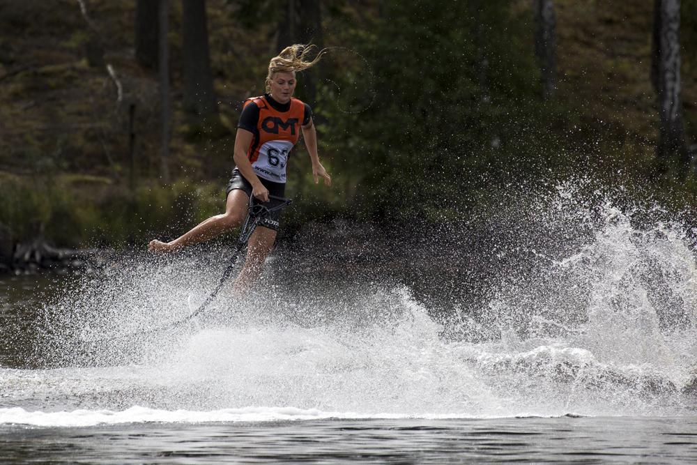 Jennifer Täfvander SM i Vattenskidor 2016
