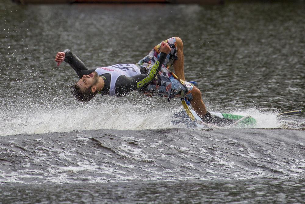 Marcus Uggla SM-guld i Trick i Vattenskidor 2016