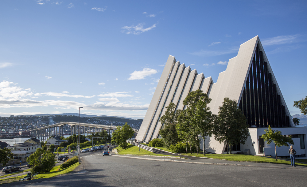 Ishavskatedralen i Tromsö