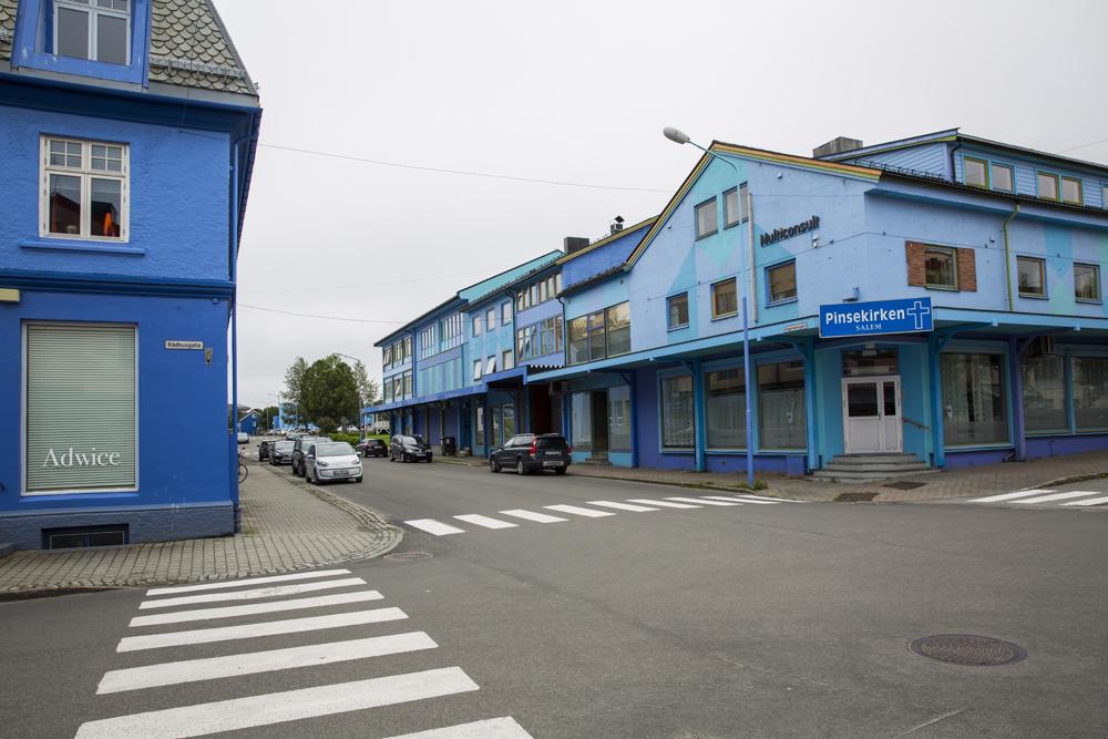 Den blå byen Sortland