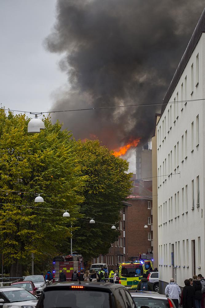 Branden på Barnhemsgatan i Linköping