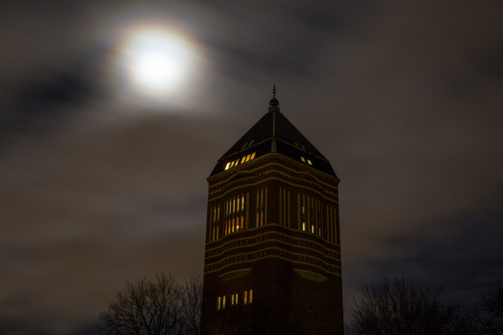 Supermåne i Linköping