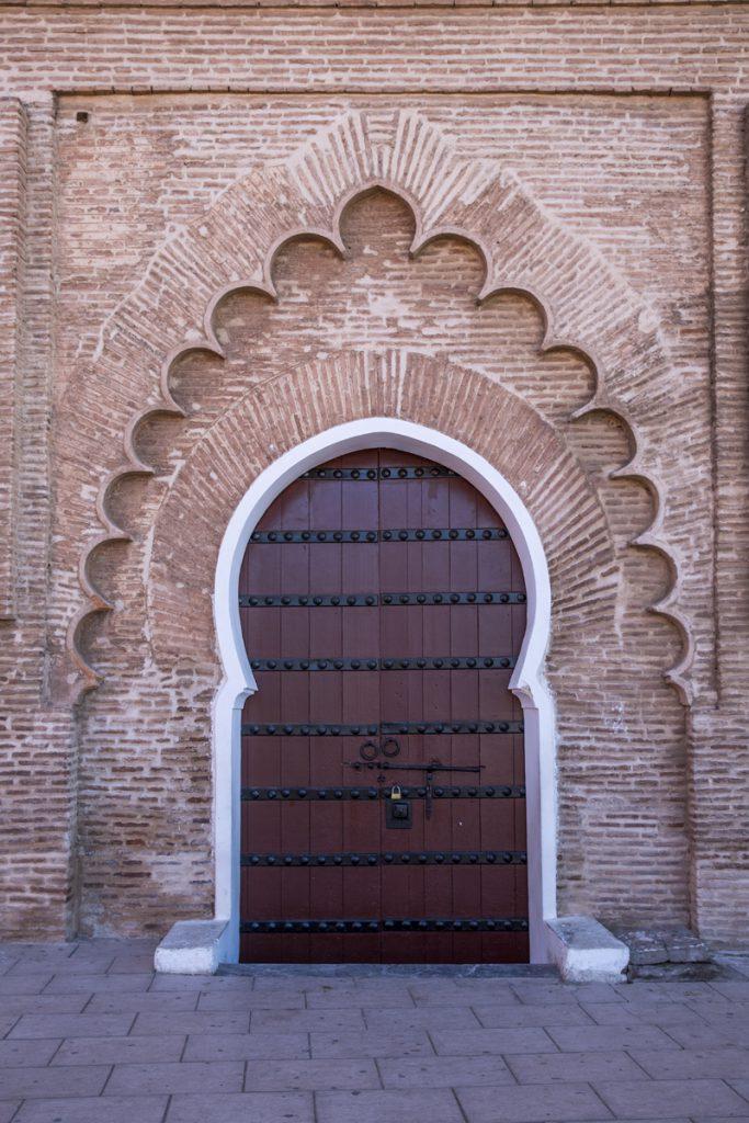 Porten till Koutombia Moskéen