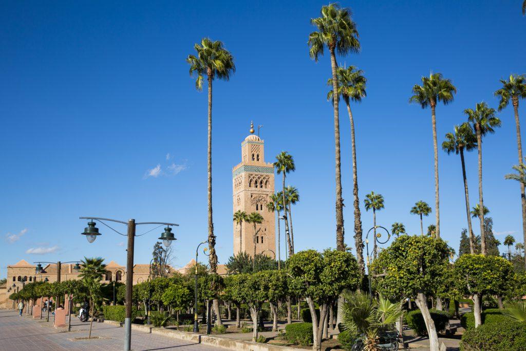 """Avslutar bildspelet med ett"""" vykort från Marrakech"""""""