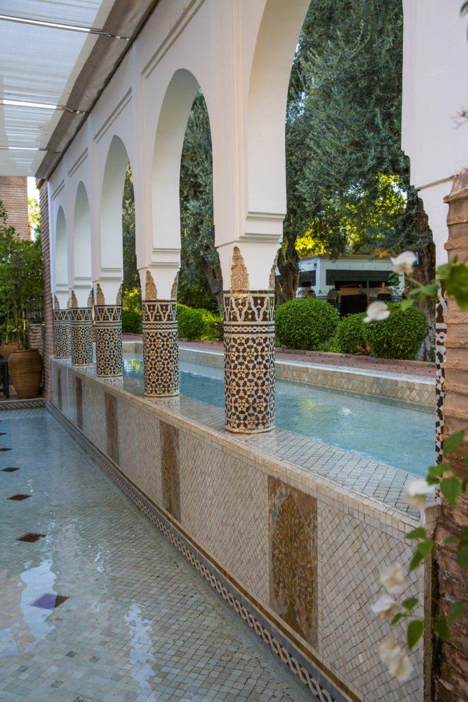 Vackert och fridfullt på Hotel La Mamounia
