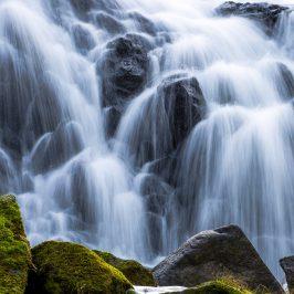 Vattenfallet i Röttle by