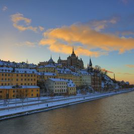 Vinter i vackra Stockholm