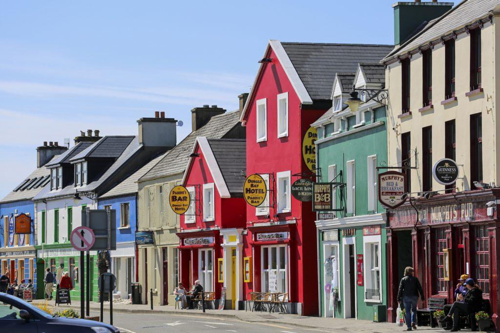 Dock är inte allt grönt på Irland. Dingle är ett lysande exempel på Irländsk färgprakt