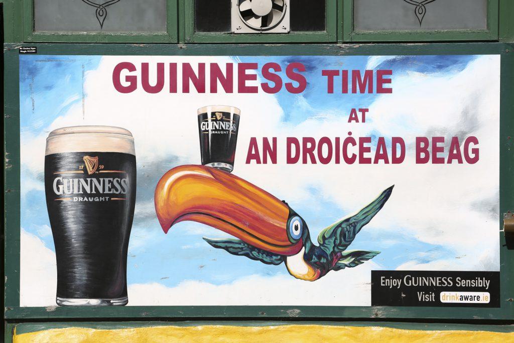 Alltid tid för en Guiness enligt irländarna