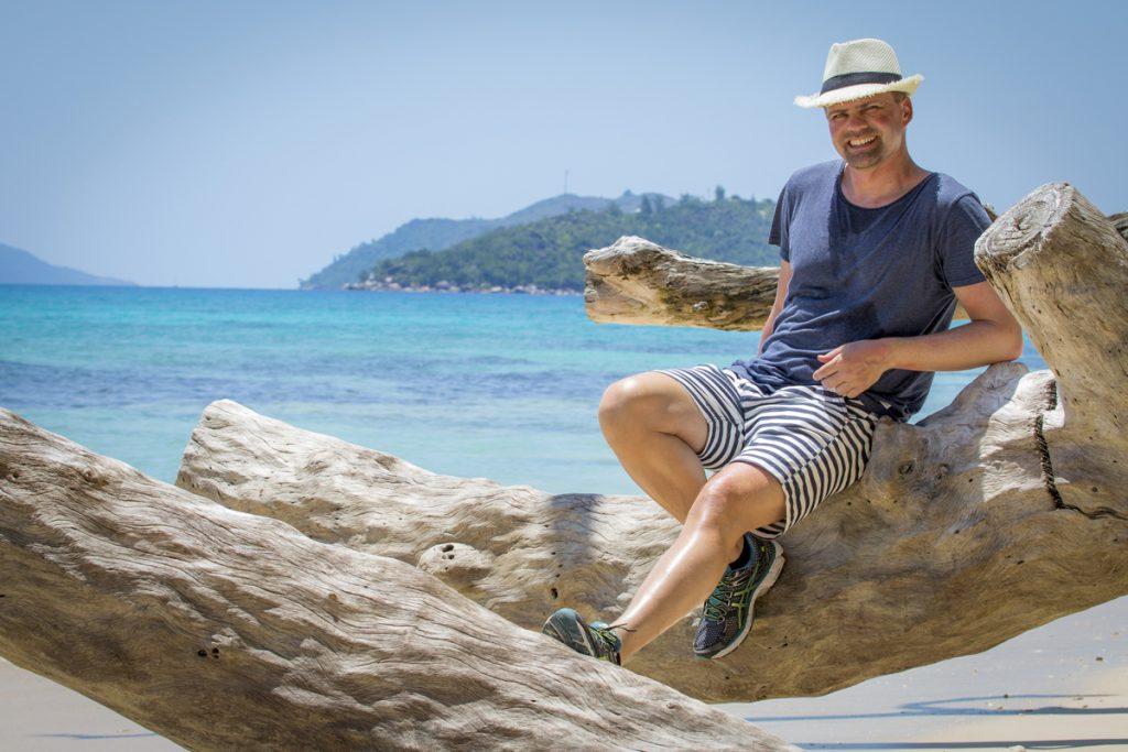 Det är lätt att slappna av på Seychellerna