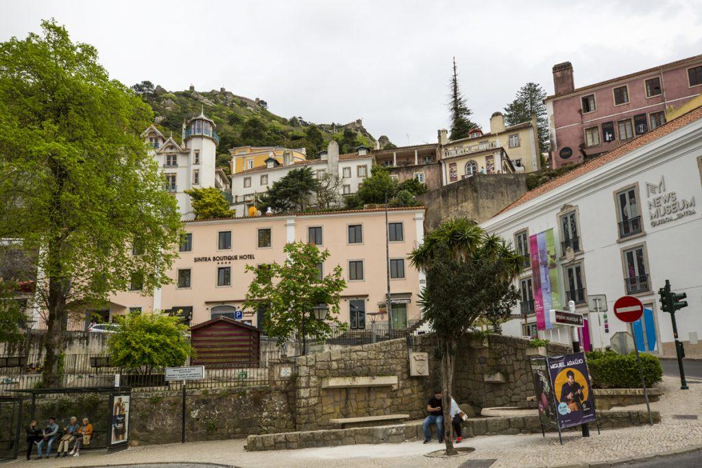 En skön promenad i den mysiga byn Sintra