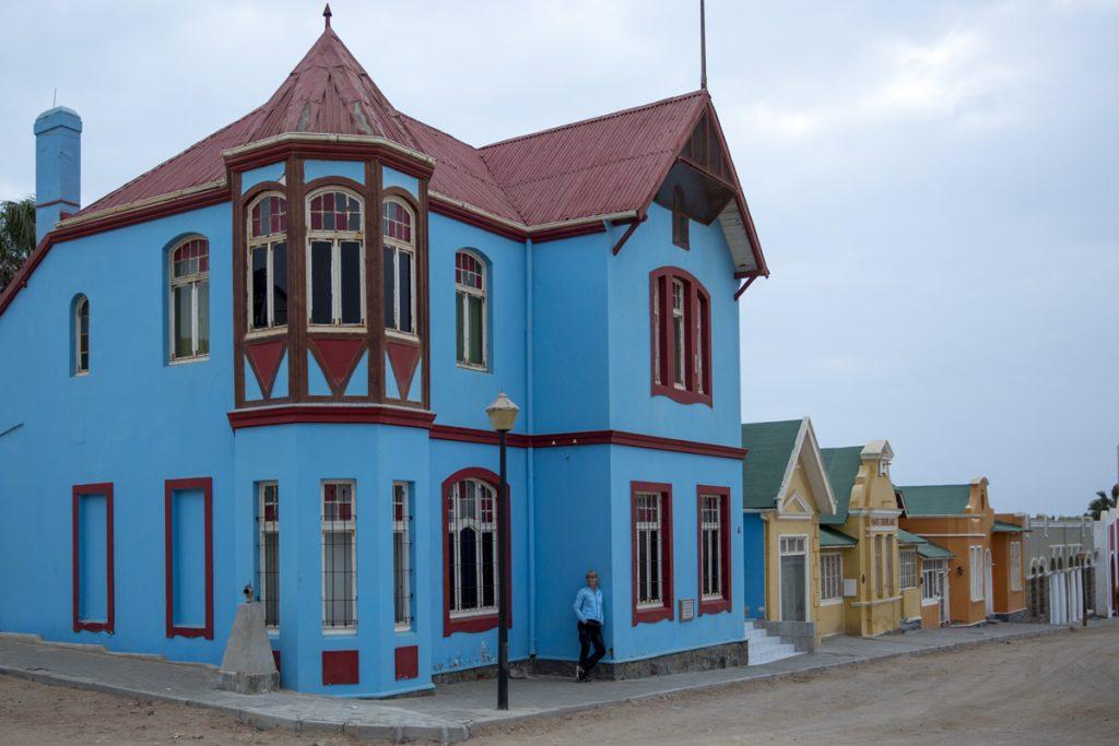 Den mest fotograferade gatan i kuststaden Luderitz