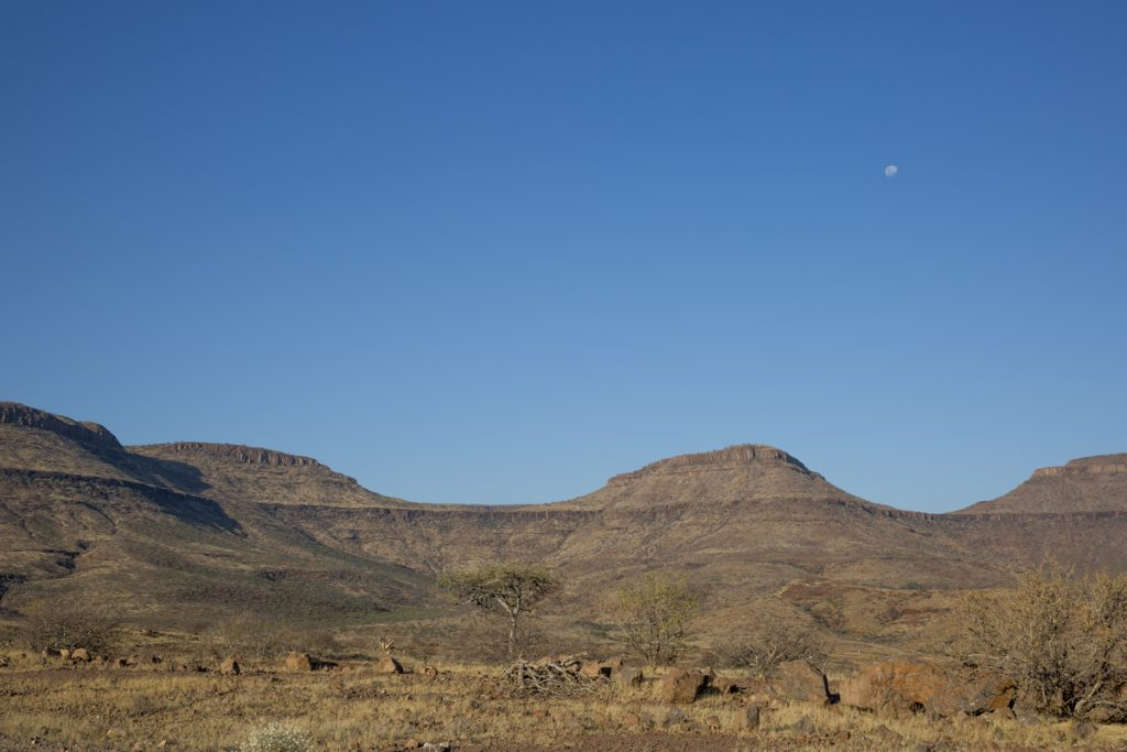 Mäktigt landskap i Damaraland