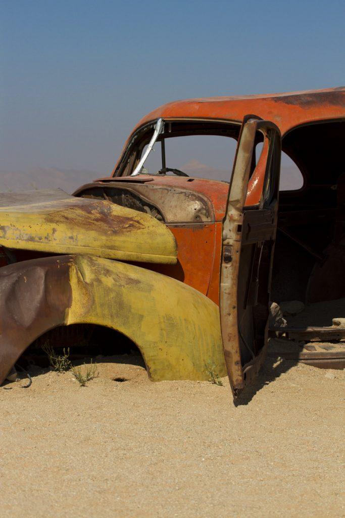 Solitaire - känt för sina bilvrak och äppelpaj