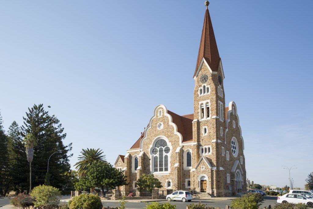 Windhoek mest kända motiv - Christchurch