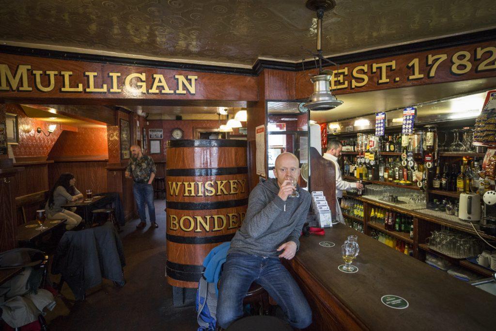 På John Mulligans tyckte vi det var dags för en Jameson.