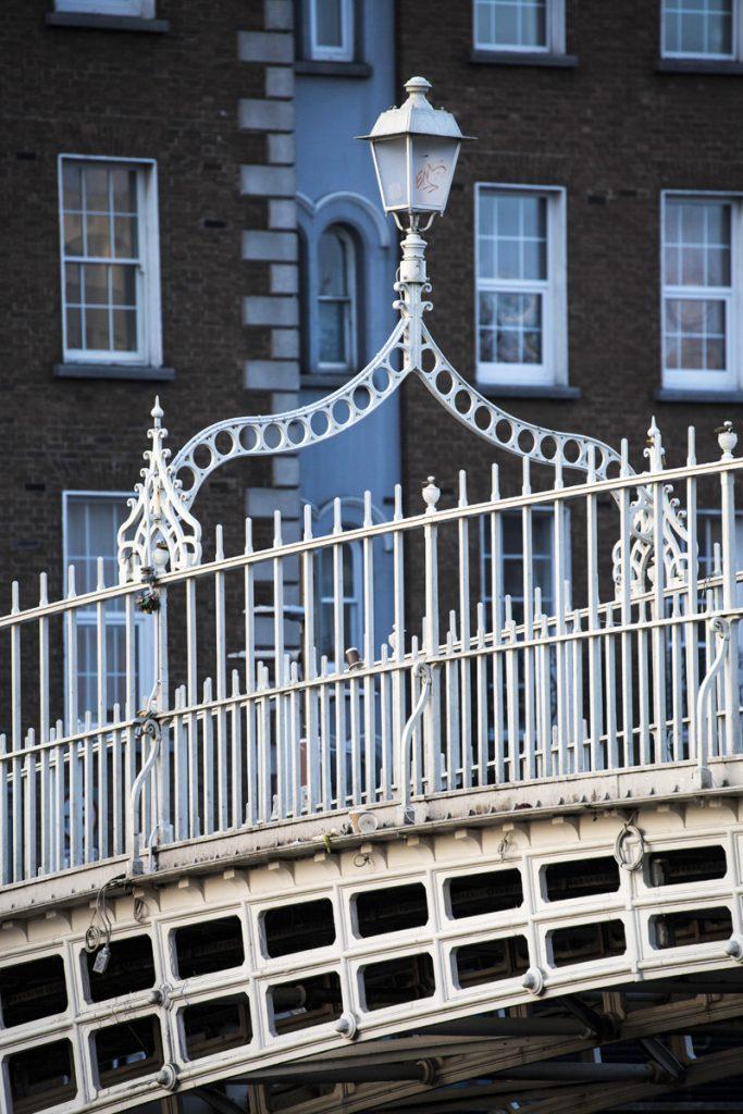 Ha´penny bridge, ett av Dublins mest kända landmärken