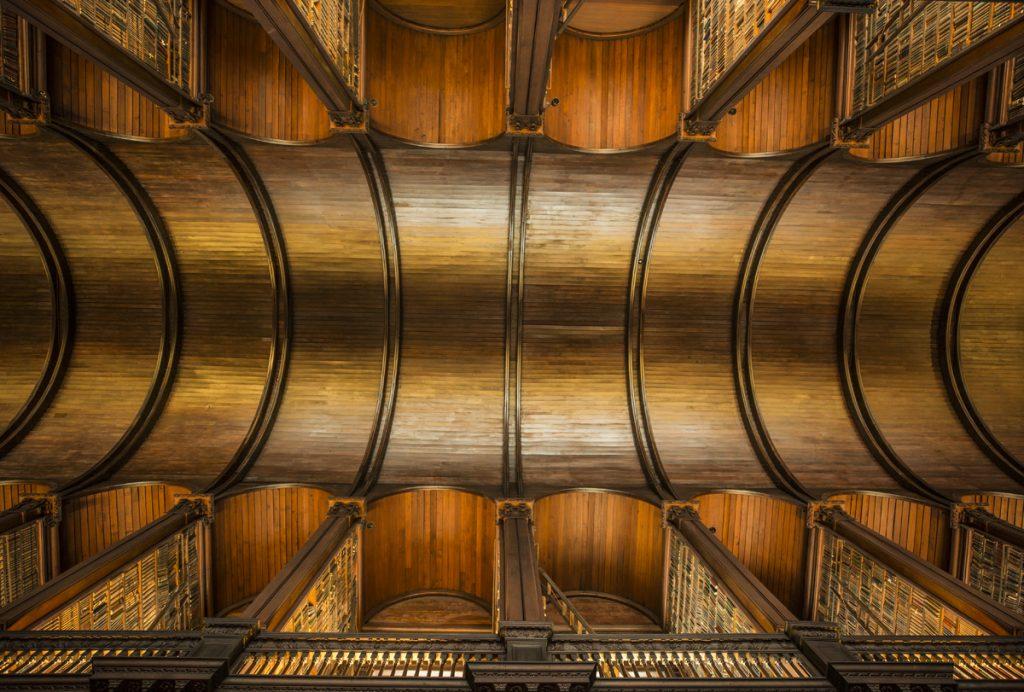 Trinity College Librarys vackra tak