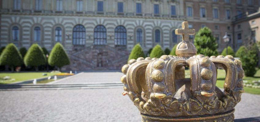 Vaktavlösning Stockholms slott