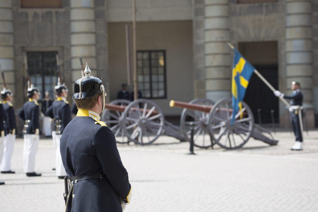 Vaktavlösningen vid Stockholms slott