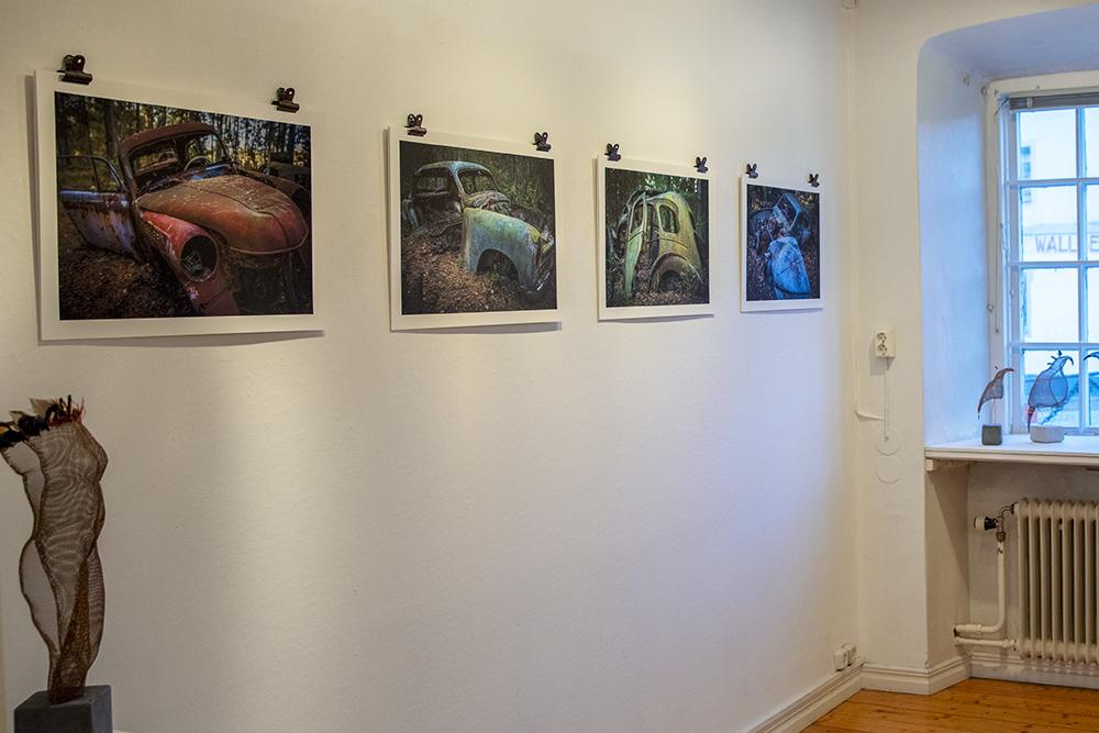 Utställning med Söderköpings konstförening i Rådhuset, feb-mars 2019, ihop med Yamenvisst!