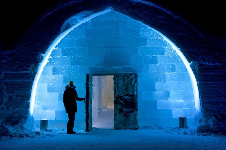 Icehotel Jukkasjärvi Swedden