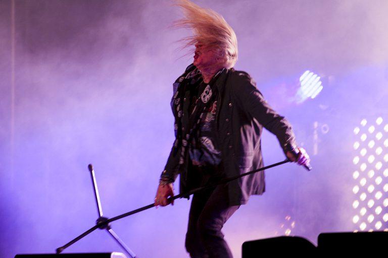 Biff Byford at Sweden Rock Festival