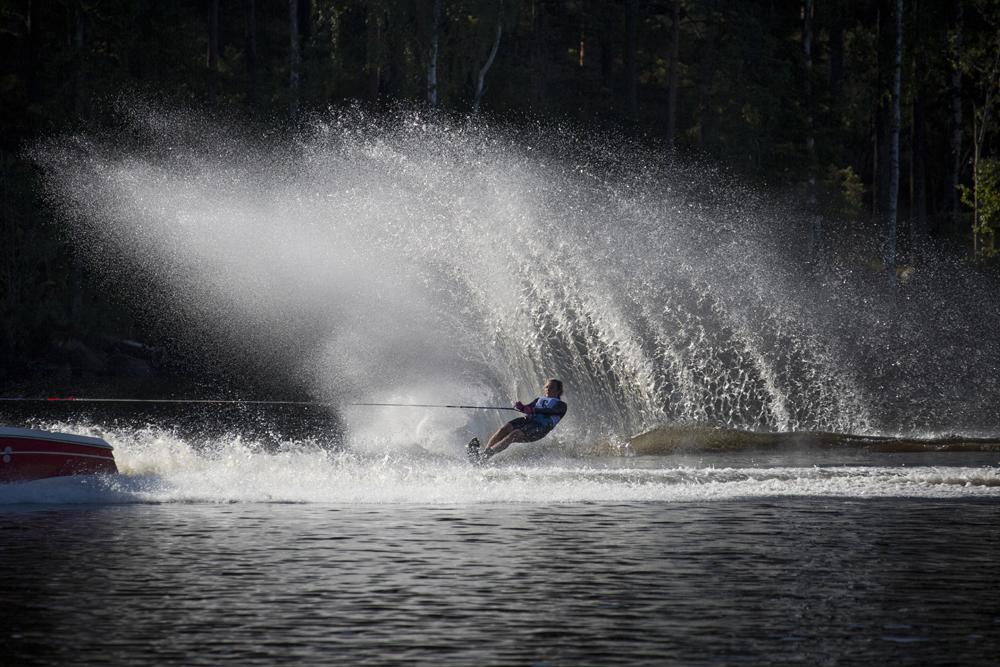 SM i vattenskidor i Linköping 2016
