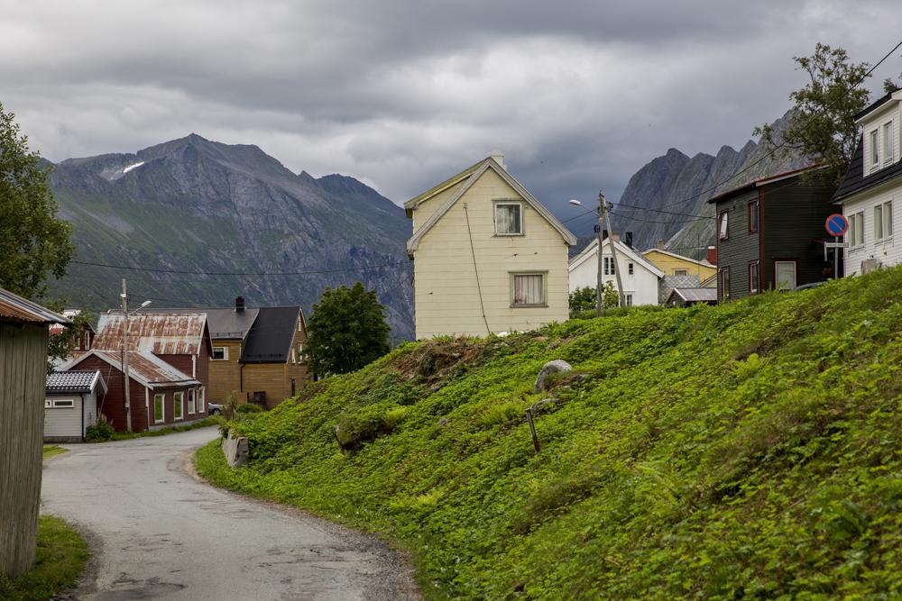 Gryllestad på Senja i Norge