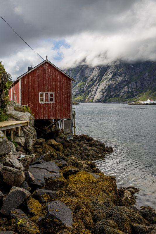 En rorbu i Sund på Lofoten