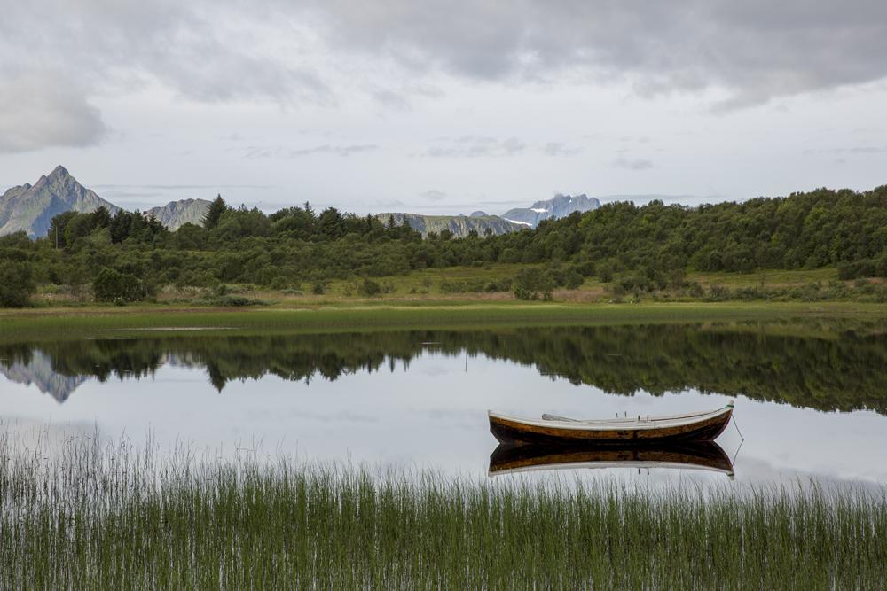 Lungt vatten på Lofoten