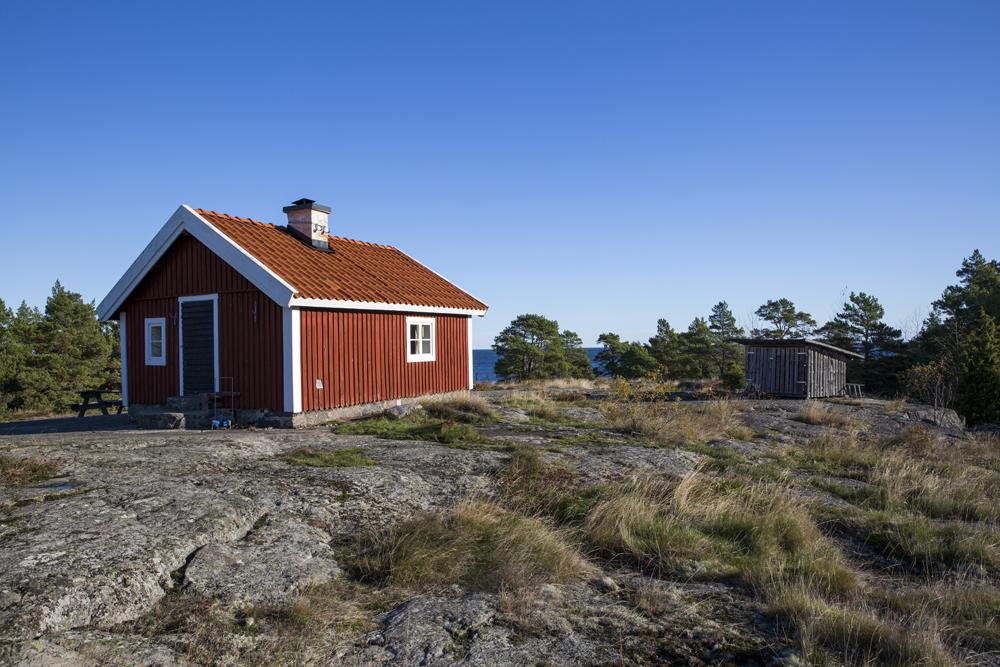 Lotsstugan på Torrö i Östergötlands skärgård