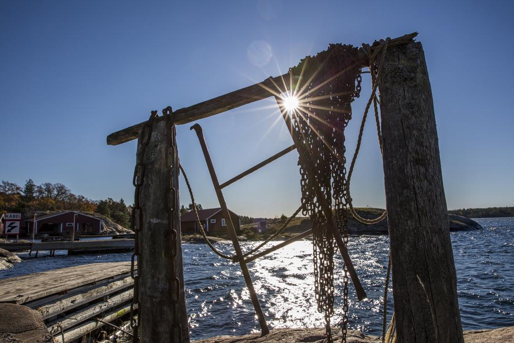 Motljusfotografering på Torrö