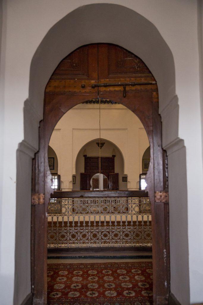 Många valv i en marockansk kasbah
