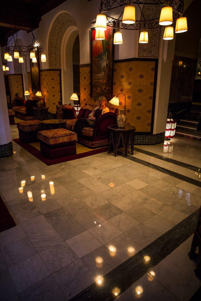 Ett besök på Hotel La Mamounia med imponerande inredning