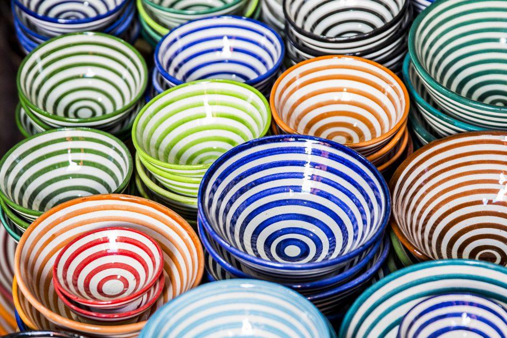 Keramik i mängder...