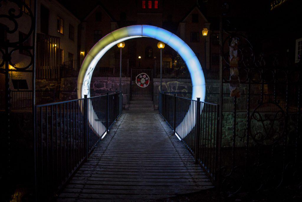 Norrköping light festival - Circle of Life