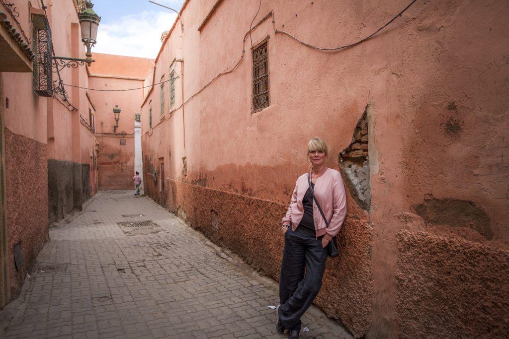 """Marrakech, även kallad """"Den rosa staden"""""""