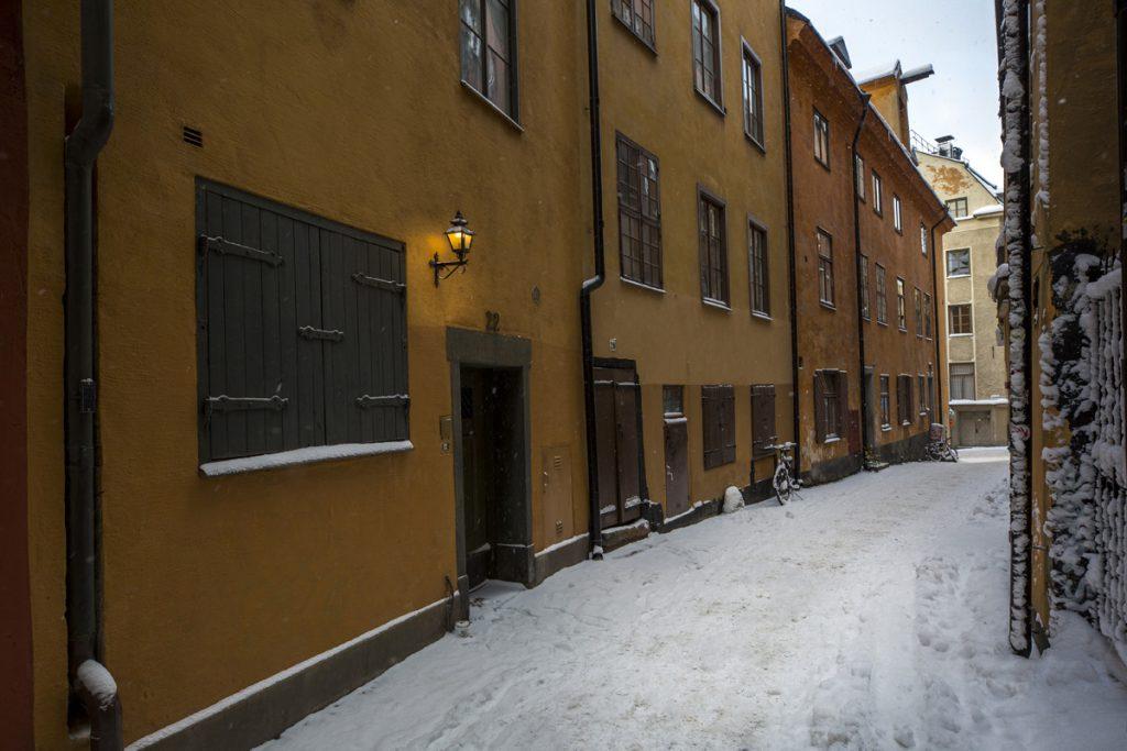 Gamla stan har många vackra motiv att bjuda på, även vintertid