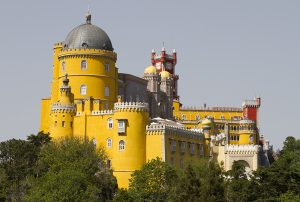 Amazing Sintra with Pena palace in Portugal