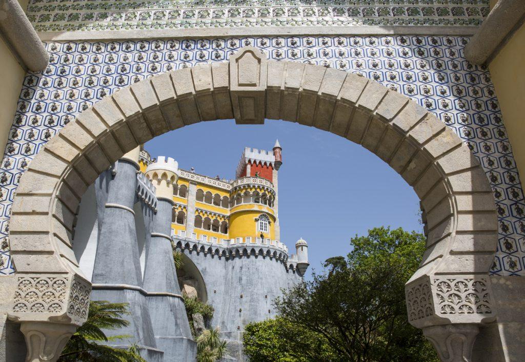 Det fanns en hel del islamiska inslag i arkitekturen, bl a den här porten