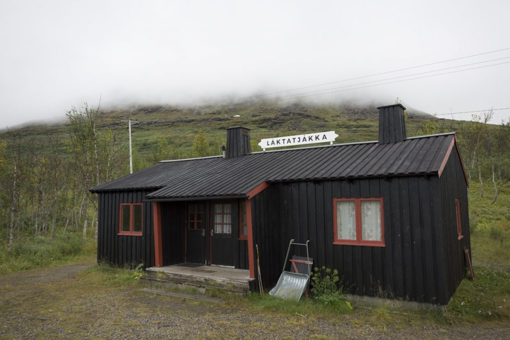 Låktatjåkka stationshus