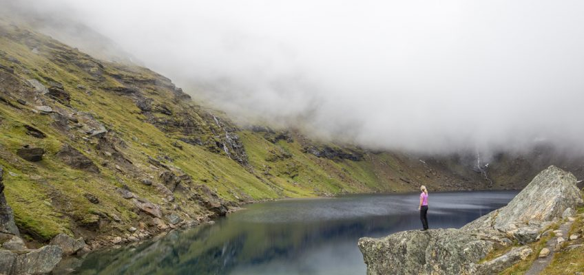 Vandra till Trollsjön
