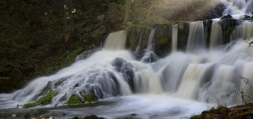 Sveriges vackraste vattenfall