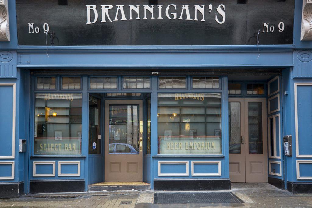 Brannigan's.