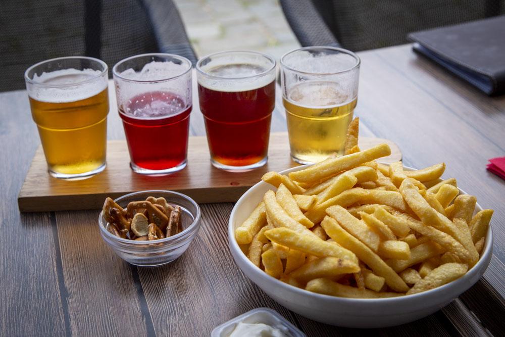 Ölprovning med Pommes frites