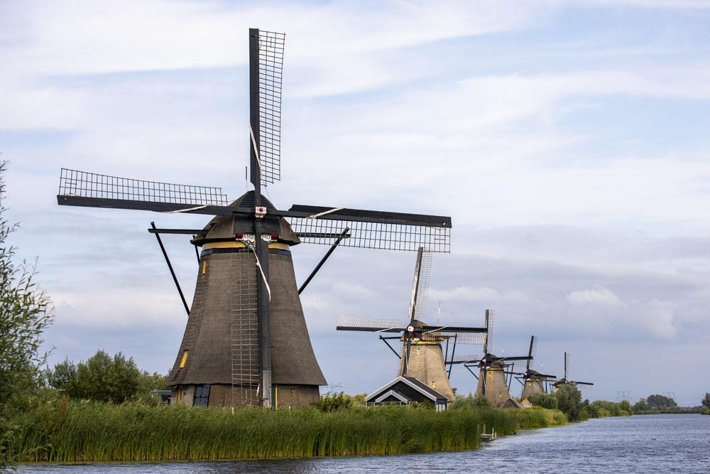Väderkvarnarna i Kinderdijk